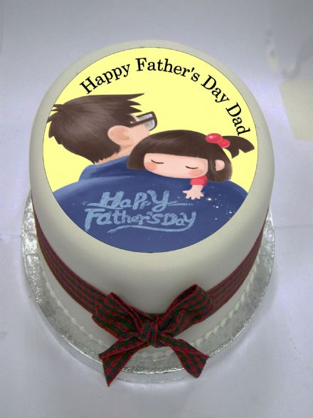 Father's Day Edible Cake Topper (Option 1) Edible Cake Topper